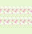 botanical motifs seamless texture little vector image vector image