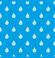 drop oil pattern seamless blue vector image
