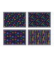 geometric pattern abstract seamless texture vector image vector image