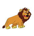 lion angry vector image vector image