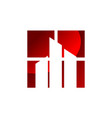 real estate window vector image