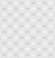 White background seamless pattern with circles vector image vector image