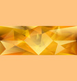 abstract crystal background vector image vector image