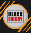 banner black friday circle background image vector image vector image