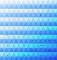Blue bright abstract triangles seamless pattern vector image vector image