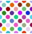 Color Ink Blots Seamless Background vector image vector image