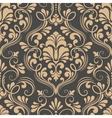 damask seamless pattern element Elegant luxury vector image vector image