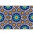 Seamless Uzbek pattern Ceramic tile imitating vector image vector image