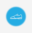 shoes icon sign symbol vector image vector image