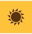 The sunrise icon Sunrise and sunshine weather vector image vector image