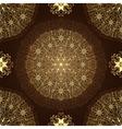 Vintage brown seamless pattern vector image