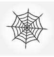Halloween cobweb outline icon vector image