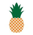 Ananas vektor icon4 vector image
