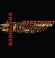 Barcelona break people prefer private apartments