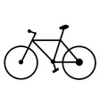 Bicycle 01 vector image vector image