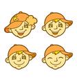 Funny boy vector image vector image