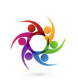 group of friends people icon vector image vector image