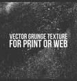 grunge texture for print or web vector image vector image