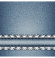 jeans stripe vector image vector image