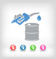 oil prices vector image vector image