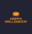 pixel art halloween vector image vector image
