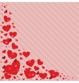 Valentines Day heart in vector image vector image