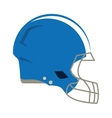 american football helmet protection vector image vector image