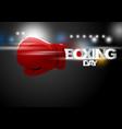 boxing day shopping concept design vector image