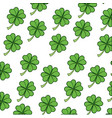 clover lucky leaf vector image vector image