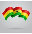 Ghanaian waving Flag