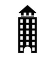 italian building icon vector image