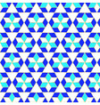 muslim geometric pattern in blue green and white vector image vector image