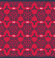 pink and gray trendy ornamental damask seamless vector image vector image