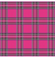 Tartan Plaid Pattern Background with Fabric vector image vector image