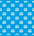 travel bag design pattern seamless blue vector image vector image