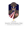 veteran or patriot theme vector image