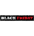 web banners for black friday sale vector image