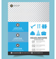 a4 construction tools flyer template