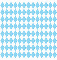 background for october fest with blue diamonds vector image vector image