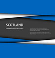 background with scottish colors vector image vector image