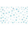 background with snowflakes eps-10 vector image vector image
