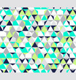 bright irregular abstract geometric vector image vector image