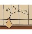 Oriental Zen decoration vector image vector image