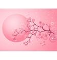 Pink Cherry Blossoms Sakura vector image
