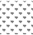 striped dirigible pattern vector image vector image