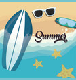 summer season design vector image vector image