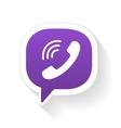 IM instant messager phone handset vector image