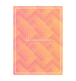 8 march greeting card template on pink background vector image vector image