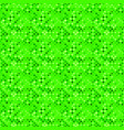 diagonal square pattern background - green vector image vector image