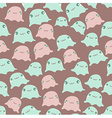 Funny sea seamless pattern